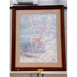 Signed Limited Edition Diana Stanley Framed Print