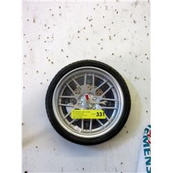 "10"" Car Tire Wall Clock"