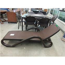 New Nardi Adjustable Alfa Sun Lounger