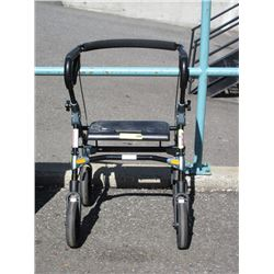 Folding Life Care Mobility Chair with Basket