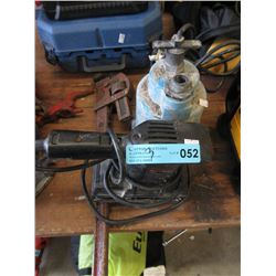Sump Pump, Sander & Pipe Wrench