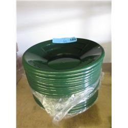22 New Green Plastic Gold Panning Pans