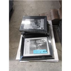 11 Assorted New Picture Frames