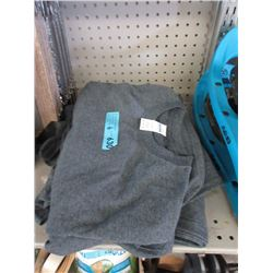 6 New Grey Tee Shirts - Size M