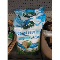 Two 4 KG Bags of Scotts Grass Seed