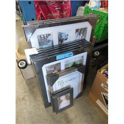 12 Assorted New Picture Frames