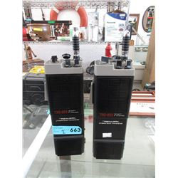 Pair of Realistic TRC-203 Walkie Talkies