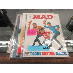 Five 1970s Mad Magazines