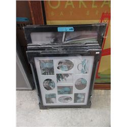 6 Assorted New Picture Frames