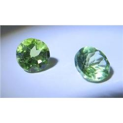 1.25 ct. Ant Hill Peridot from Arizona matched pair