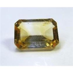 0.90 ct. Yellow Tourmaline AAA from Malawi