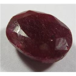 9.50 ct. Pigeon Blood Ruby  AAA