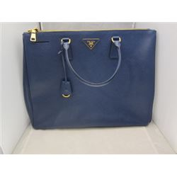 Prada Galleria Saffiano Lux Tote with two zip compartments