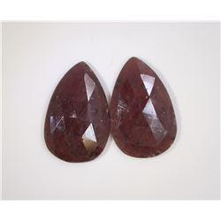 34.6ct GIA Approved Ruby Slice Pear cut