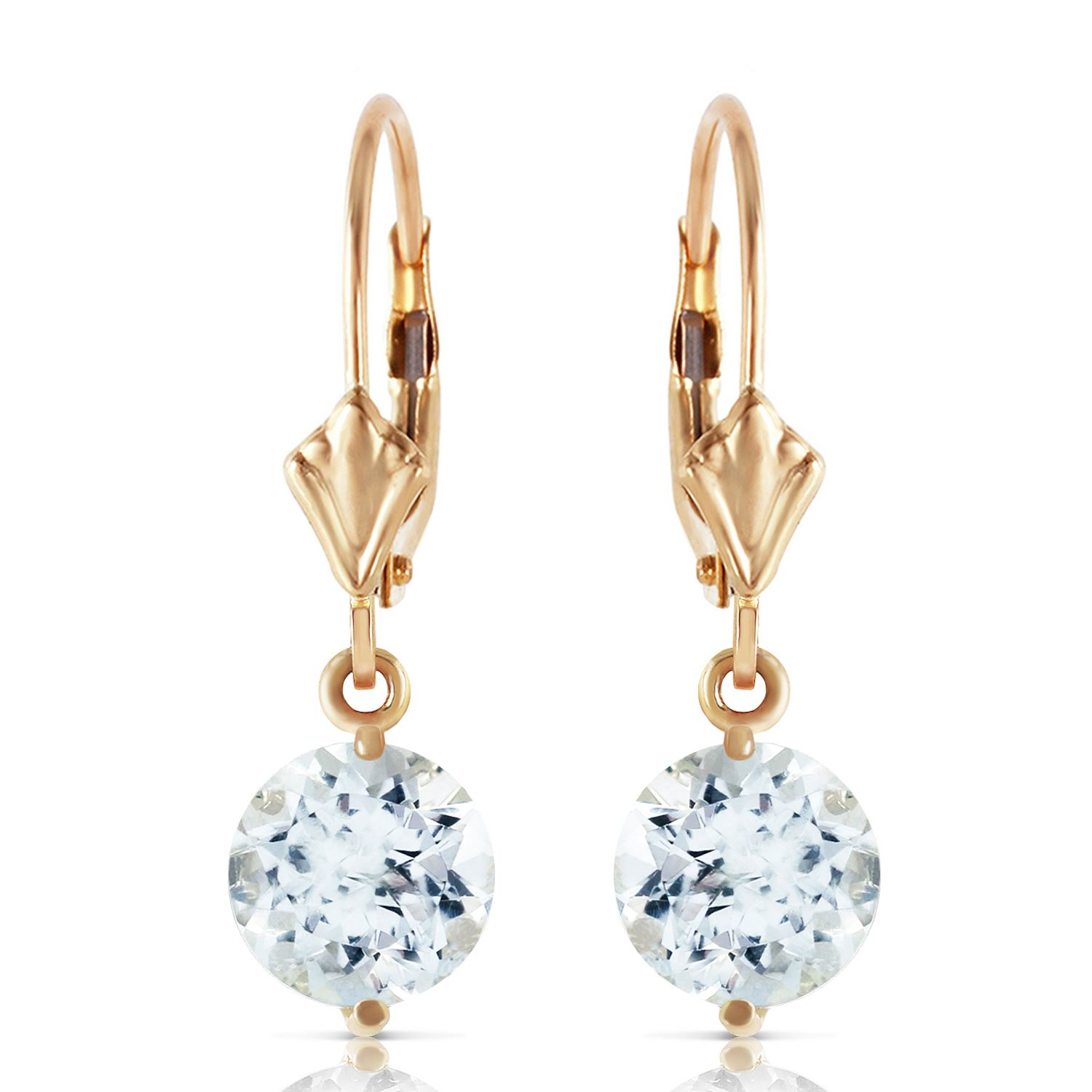 gold products peo white genuine ct earrings tw progressive dangle aquamarine chandelier