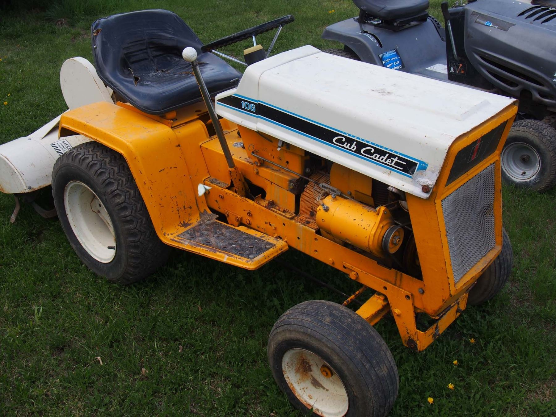 Cub Cadet Model 106 Wiring Ask Answer Diagram International Lawn Tractor And Cultivator Rh Icollector Com