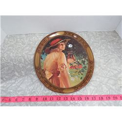 Coca Cola Tray Repro of 1916 WW1 Girl Advertising