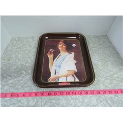 Coca Cola Tray-Repro Picture of 1923 Flapper Girl Ad (1979/79-609