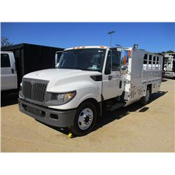 2012 INTERNATIONAL TERRASTAR SERVICE TRUCK, VIN/SN:1HTJSSKK0CJ611141 - INTERNATIONAL DIESEL ENGINE,