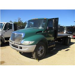 2007 INTERNATIONAL 4300 FLATBED DUMP, VIN/SN:1HTMMAAL17H427867 - S/A, IHC DIESEL ENGINE, A/T, 18' 6""