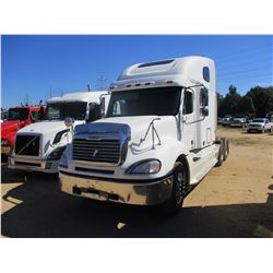 2006 FREIGHTLINER COLULMBIA TRUCK TRACTOR, VIN/SN:1FUJA6CK46LW78123 - T/A, S60 DETROIT DIESEL ENGINE