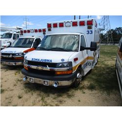 2014 CHEVROLET 4500 AMBULANCE, VIN/SN:1GB6G5CLXE1108804 - DURAMAX DIESEL ENG, A/T, ODOMETER READING