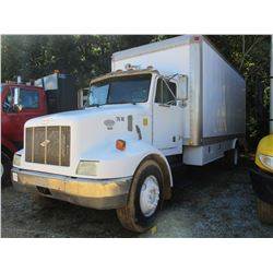 1997 PETERBILT 330 FUEL & LUBE TRUCK, VIN/SN:3BPNHD7X9VF442714 - S/A, CAT DIESEL ENGINE, 6 SPEED TRA