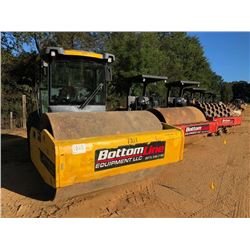 """2014 DYNAPAC CA2500 ROLLER, VIN/SN:10000138T0A014792 - VIBRATORY, 84"""" SMOOTH DRUM, CAB, A/C, METER R"""