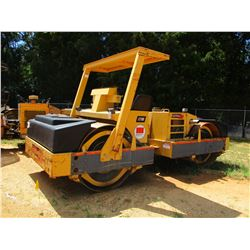 """2001 HYPAC C778B ROLLER, VIN/SN:109B21501820 - TANDEM, VIBRATORY, 78"""" SMOOTH DRUM, WATER SYSTEM, CAN"""