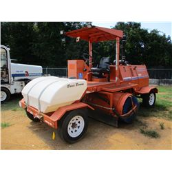 2007 BROCE RJ350 BROOM, VIN/SN:405768 - WATER SYSTEM, CANOPY, METER READING 1,341 HOURS
