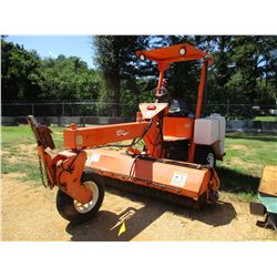 2005 LAY MOR 8HC SWEEPER, VIN/SN:30254 - THREE WHEELED, 8' BROOM, DIESEL ENGINE, CANOPY, METER READI