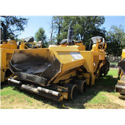 2008 CAT AP1000D ASPHALT PAVER, VIN/SN:EAD00293 - CAT VERS-AMAT AS2302 SCREED, METER READING 9,027 H