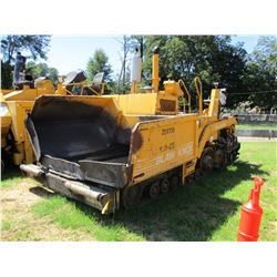 "2001 BLAW KNOW PF-4410 ASPHALT PAVER, VIN/SN:441003-27 - 8' 14"" SCREED, METER READING 8,403 HOURS"