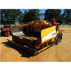 2006 LEE-BOY L8510T ASPHALT PAVER, VIN/SN:43664 - CRAWLER, LEGEND 8'-15' EXT SCREEDS, GRADE & SLOPE