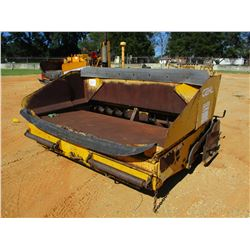 GEHL 1448 ASPHALT PAVER, VIN/SN:IMO517053 - TRACK TYPE, DIESEL ENGINE, LP GAS BURNER, METER READING