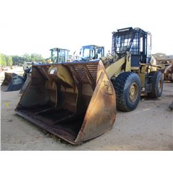 2008 CAT 938H WHEEL LOADER, VIN/SN:MJC00304 - BUCKET, COUPLER, AUX HYD, CAB, A/C, 20.5R-25 TIRES, ME