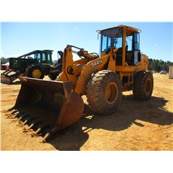 JOHN DEERE 544H WHEEL LOADER, VIN/SN:569714 - BUCKET, CAB, A/C, 20.5R-25 TIRES, METER READING 6,668