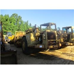 CAT 627B MOTOR SCRAPER, VIN/SN:14S482 - CANOPY, 29.5-29 TIRES, METER READING 6,116 HOURS