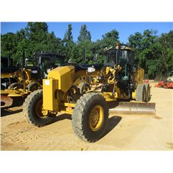 2012 CAT 140M2 MOTOR GRADER, VIN/SN:M9D00796 - 14' MOLDBOARD, PUSH BLOCK, RIPPER, REAR CAMERA, CAB,
