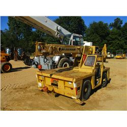 BRODERSON IC-80 ROUGH TERRAIN CRANE, VIN/SN:628B - 17,000 LB CAPACITY, DIESEL ENGINE, 34' REACH, JIB