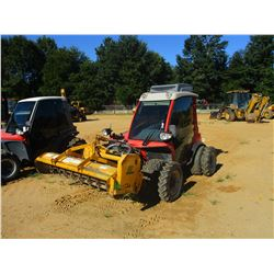 AEBI TT75 SLOPE MOWER, VIN/SN:17036 - FRONT MTD, 7' FLAIL MOWER, PTO, QUICK HITCH, METER READING 976
