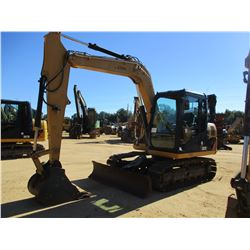"2012 CAT 307D HYDRAULIC EXCAVATOR, VIN/SN:DSG03260 - 8' STICK, 28"" BUCKET, AUX HYD, BLADE, RUBBER IN"
