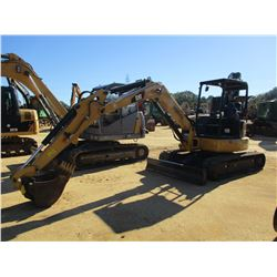 "2017 CAT 305.5E2 CR EXCAVATOR, VIN/SN:CR503434 - 6' STICK, 22"" BUCKET, AUX HYD, BLADE, RUBBER TRACKS"