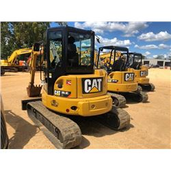 "2015 CAT 305.5E2 CR EXCAVATOR, VIN/SN:EJX00475 - 6' STICK, 22"" BUCKET, AUX HYD, BLADE, RUBBER TRACKS"