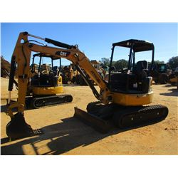 "2015 CAT 303.5E2 CR MINI EXCAVATOR, VIN/SN:JWY00353 - 4'-6"" STICK, 10"" BUCKET, AUX HYD, BLADE, RUBBE"