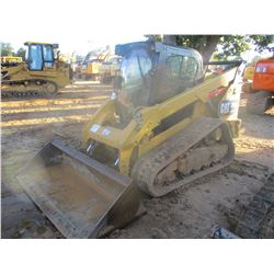 2015 CAT 299D XHP SKID STEER LOADER, VIN/SN:JST01342 - CRAWLER, TWO SPEED, BUCKET, HI-FLOW, CAB, A/C
