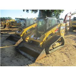 2015 CAT 279D SKID STEER LOADER, VIN/SN:GTL01796 - CRAWLER, BUCKET, TWO SPEED, CAB, A/C, METER READI