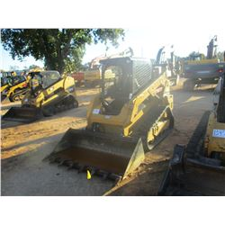 2016 CAT 259D SKID STEER LOADER, VIN/SN:FTL07230 - CRAWLER, BUCKET, CANOPY, METER READING 963 HOURS