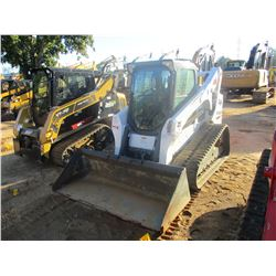 2015 BOBCAT T770 SKID STEER LOADER, VIN/SN:AN8T14377 - CRAWLER, BUCKET, HIGH FLOW, CAB, A/C, METER R