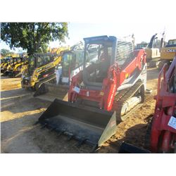 TAKEUCHI TL10V-2 SKID STEER LOADER, VIN/SN:410000035 - CRAWLER, BUCKET, HIGH FLOW, CANOPY, METER REA